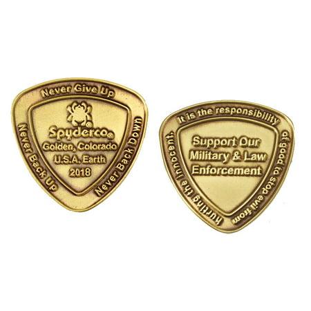 Spyderco Spydercoin 2018 Commemorative Coin
