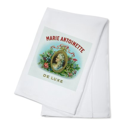 Marie Antoinette De Luxe Brand Cigar Box Label (100% Cotton Kitchen - Luxe 100% Cotton