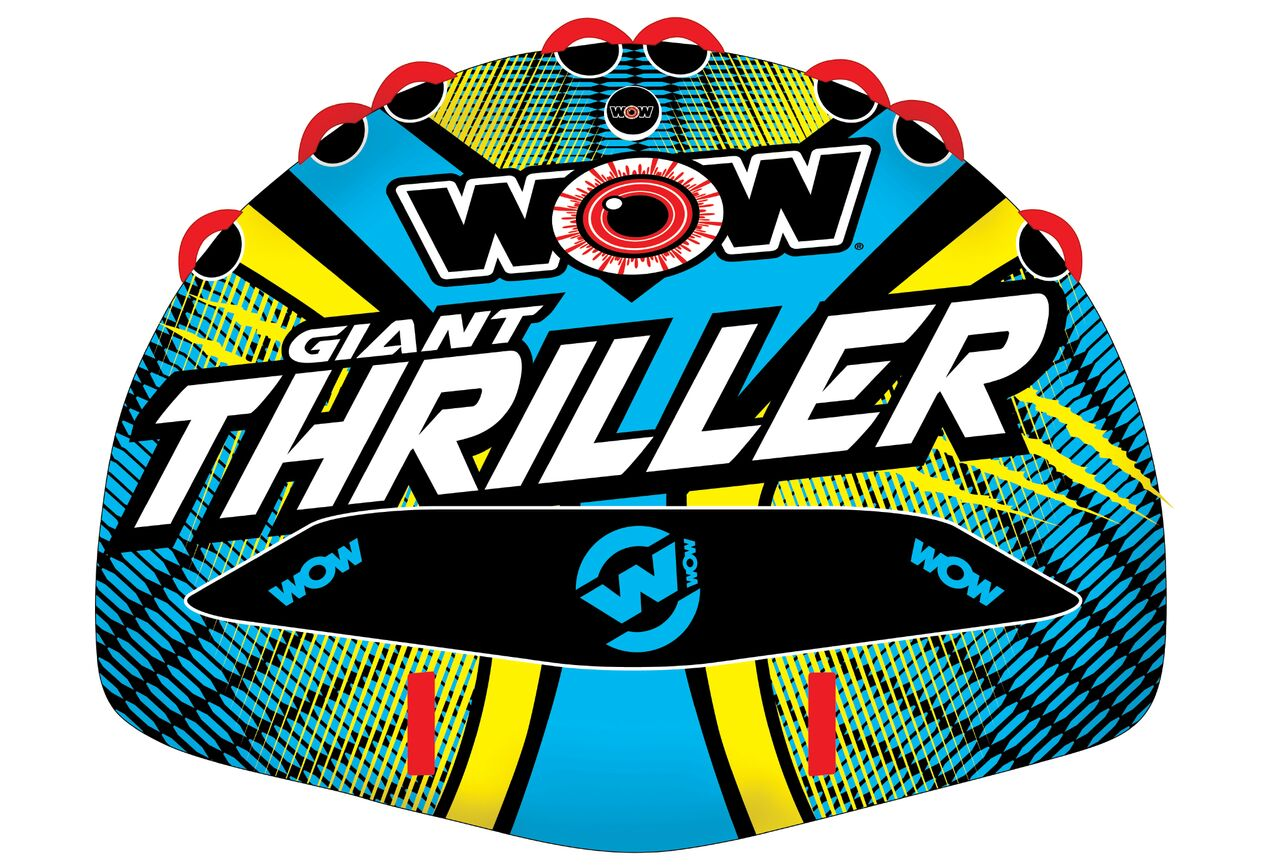 WOW 18-1030 Giant Thriller 4P Towable by WOW World of Watersports