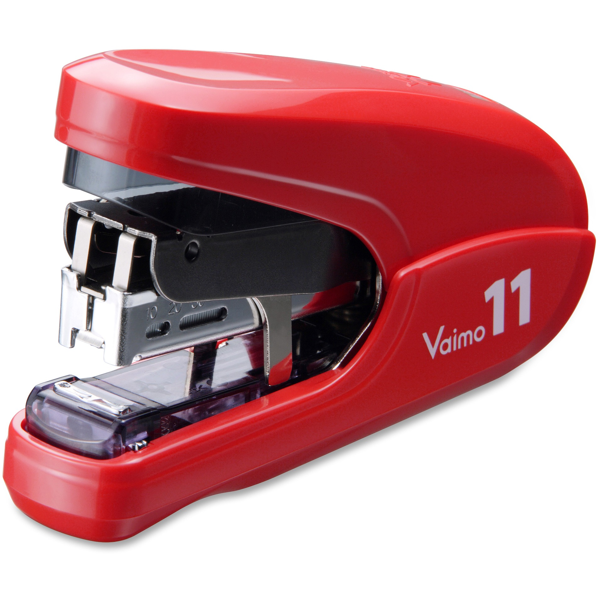 MAX Vaimo 11 Compact Stapler, Red