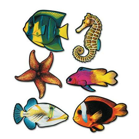The Beistle Company Fish - Fish Cutouts