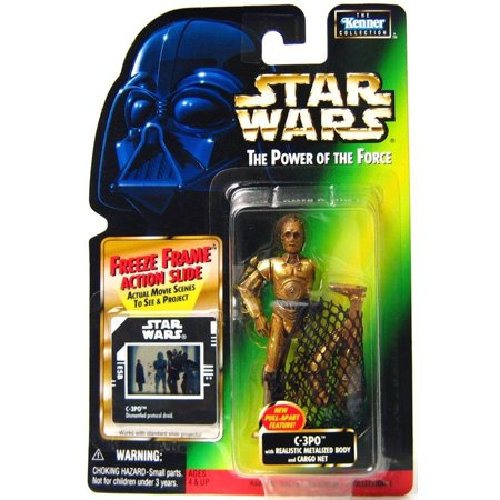 Star Wars Power of the Force POTF2 Kenner Collection C-3PO Action Figure](C 3 Po)