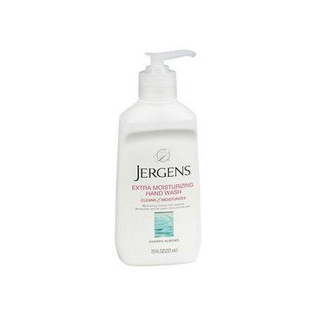 5 Pack Jergens Extra Moisturizing Hand Wash 7.50oz (Natural Moisturizing Hand Wash)