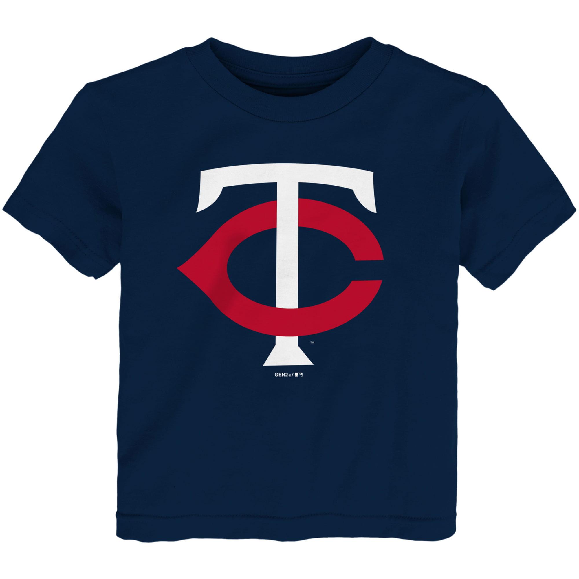 Minnesota Twins Toddler Team Primary Logo T-Shirt - Navy