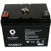 SPS Brand 12V 35Ah Replacement battery for Lawn Mower Husqvarna YT 180
