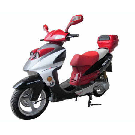 Red Vitacci PHANTOM 150cc (QT-12) Scooter, 4 Stroke,Single Cylinder,Air-Forced Cool