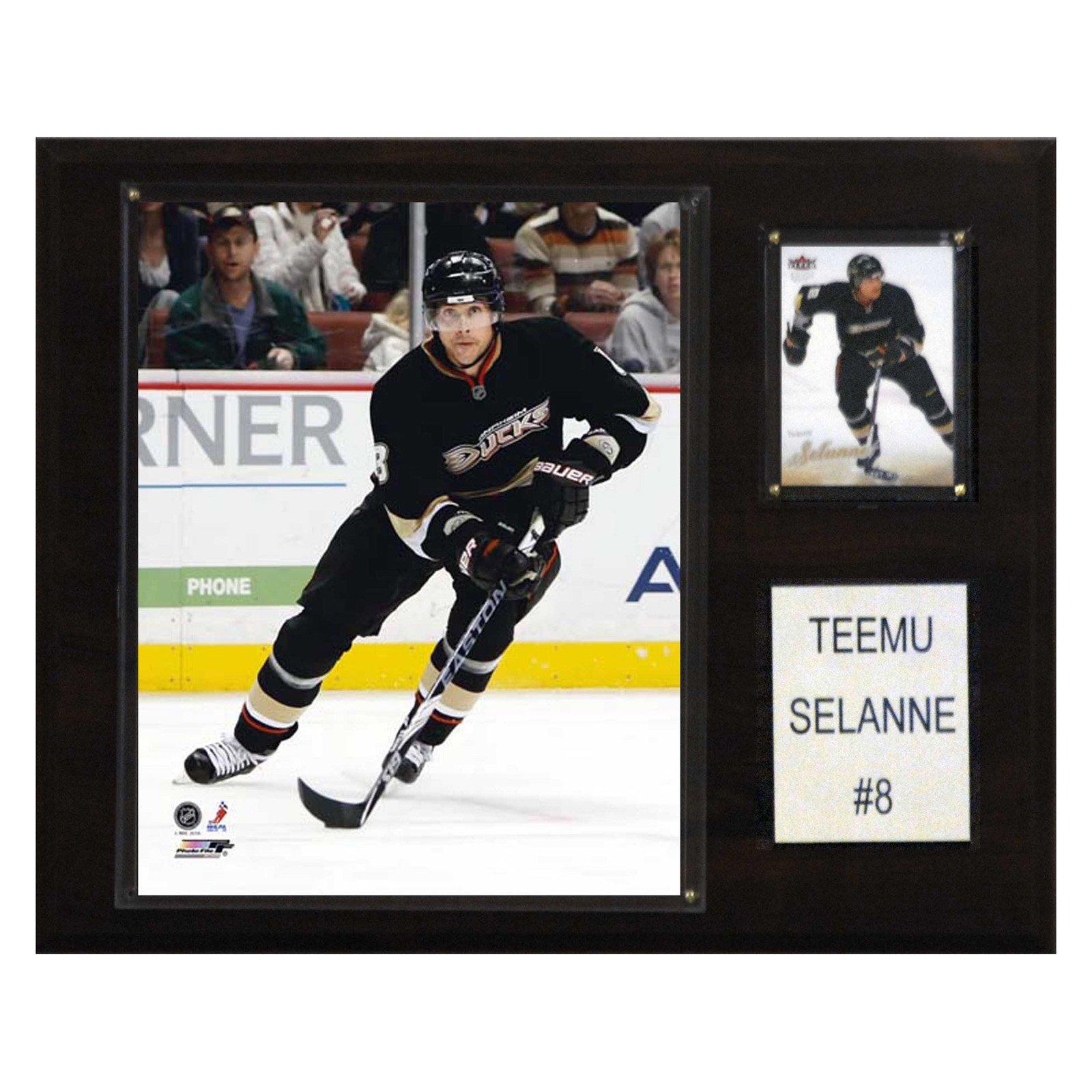 C&I Collectables NHL 12x15 Teemu Selanne Anaheim Ducks Player Plaque
