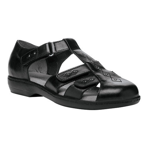 Propet Heather Women's Comfort Sandals Widths Black by