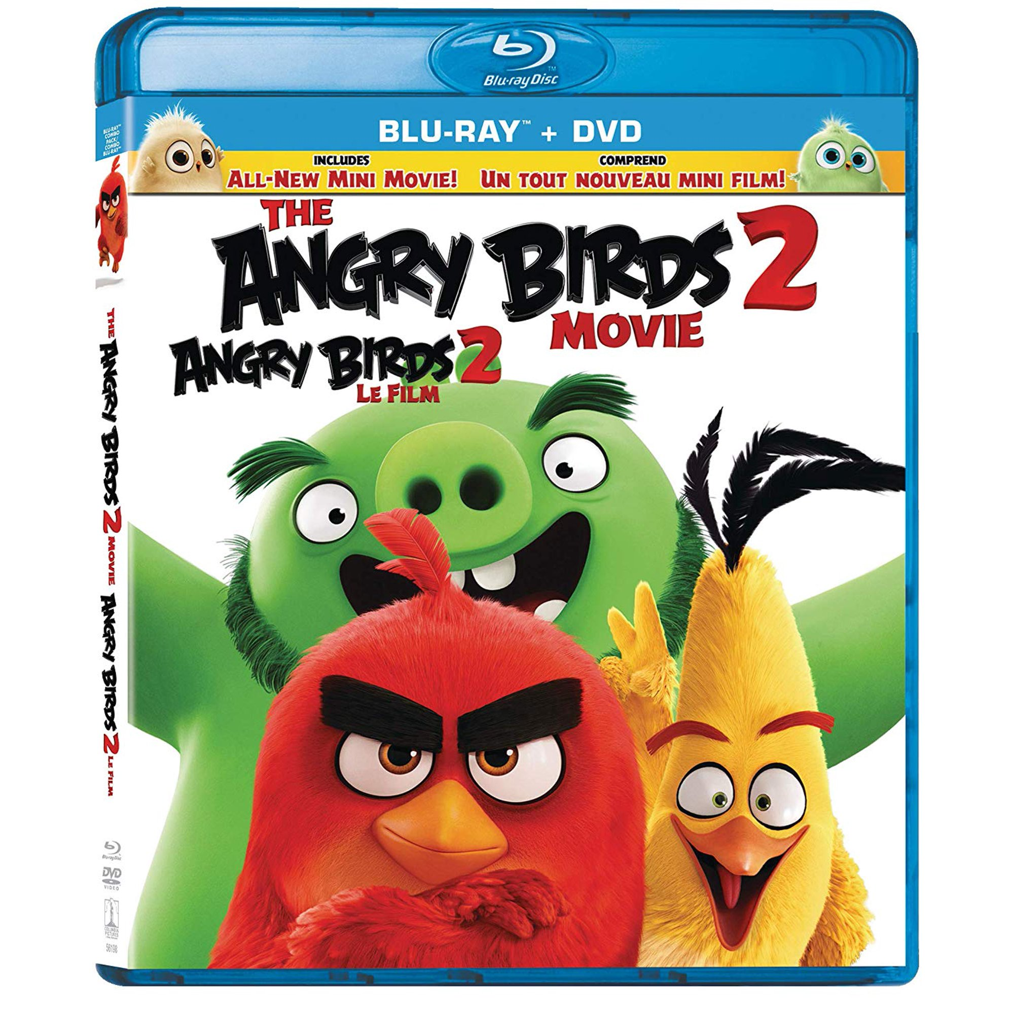 The Angry Birds Movie 2 Blu Ray Dvd Walmart Canada
