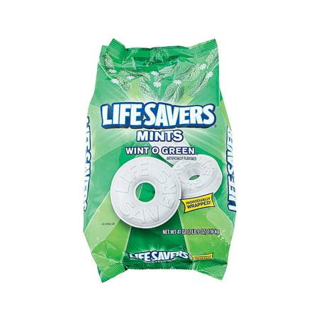 Fun Express - Lifesavers Wintogreen Mints - Edibles - Mints - Misc Mints - 308 Pieces