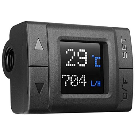 New Thermaltake AC CL-W219-PL00BL-A TF1 Temperature and Flow Indicator Retail