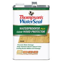 Thompson's WaterSeal Waterproofing Wood Protector, Clear, 1-Gal