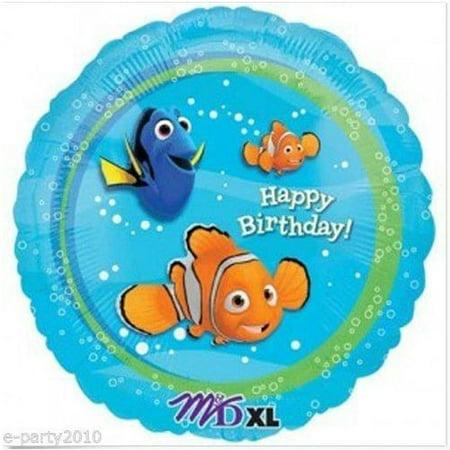 Finding Nemo Happy Birthday Foil Mylar Balloon (1ct) Finding Nemo Happy Birthday Foil Mylar Balloon (1ct)