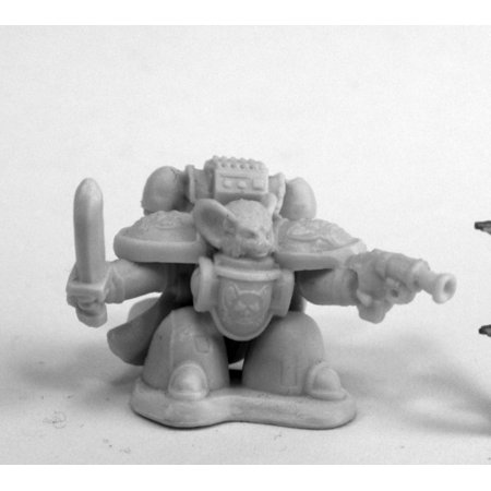 Reaper Miniatures Space Mousling Commander 80084 Chronoscope Bones Mini Figure - Space Commander