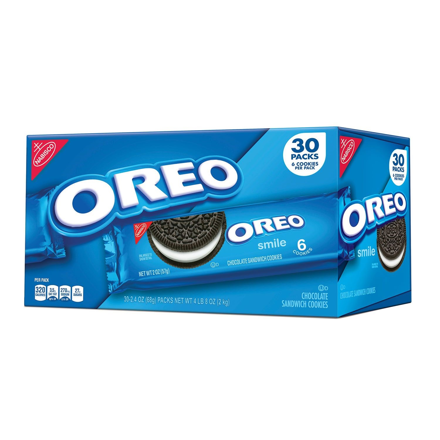 Nabisco Single Serve Oreos 2 oz, 30 Count
