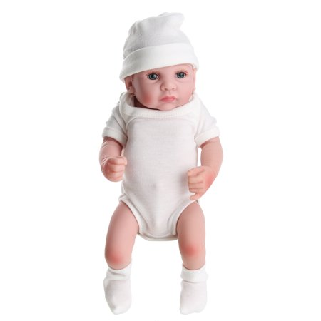 11'' High Quality Moveable Silicone Newborn Reborn Baby Dolls Lifelike Realike Vinyl Alive Baby Doll for Toddler Kids - image 6 of 10