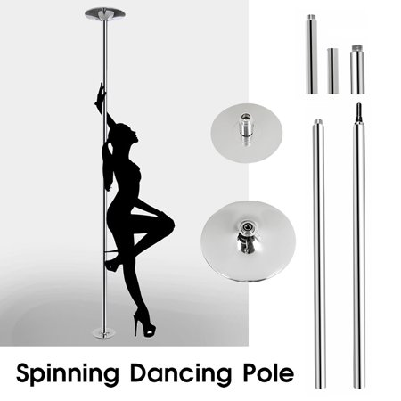 Dancing Pole Kit 45mm Professional Portable Spinning Dance Pole 9FT