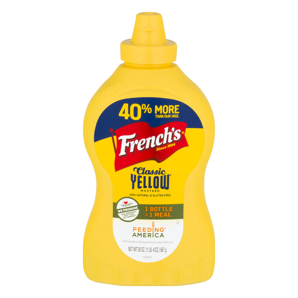 French's Classic Yellow Mustard, 20.0 OZ by The French's Food Company LLC
