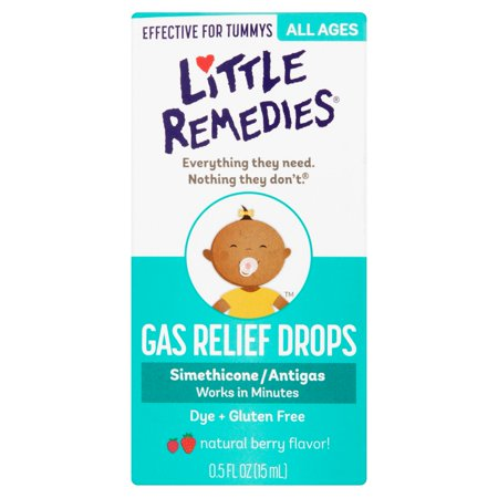 Little Remedies Natural Berry Flavor  Gas Relief Drops