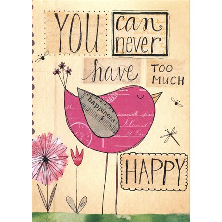 - Tree-Free Greetings Never Too Happy Birthday Card