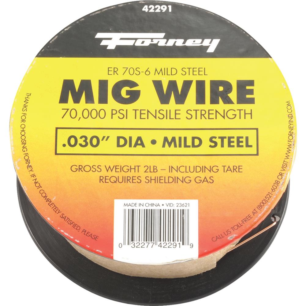"""Forney 42291 .03"""" ER70S-6 Weld Wire 2 Lb"""