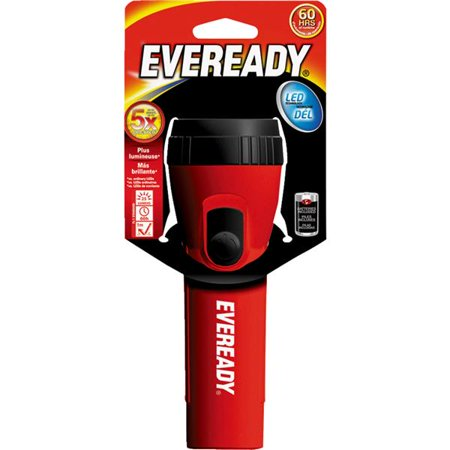Flashlight Sockets (Eveready Economy LED Flashlight)
