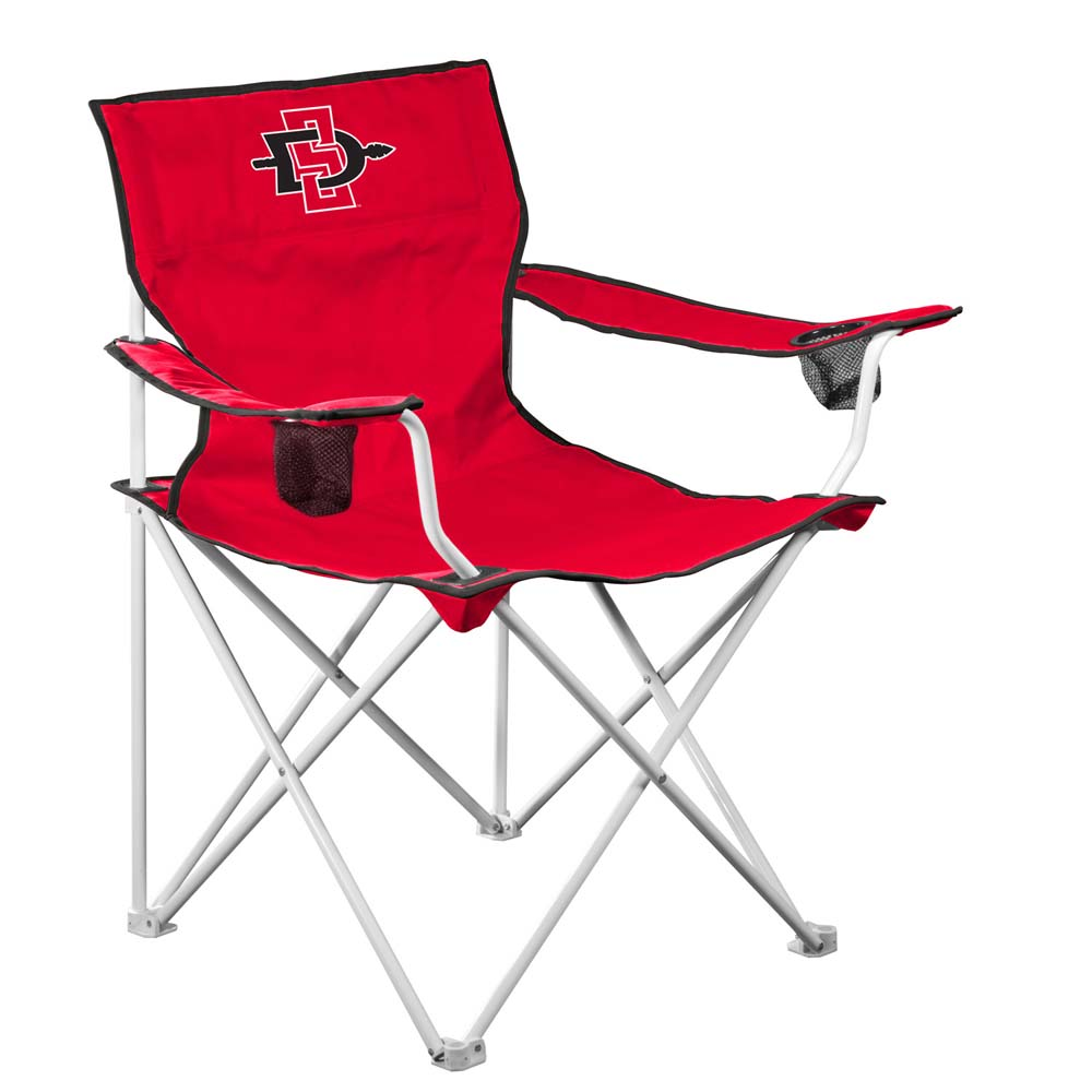 San Diego State Deluxe Adult Folding Logo Chair