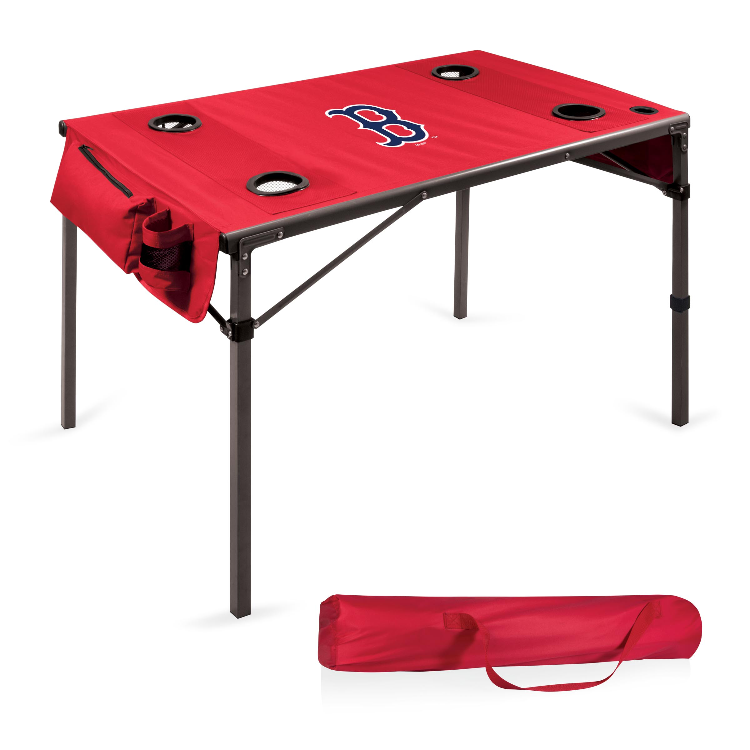 Boston Red Sox Portable Folding Travel Table - Red - No Size