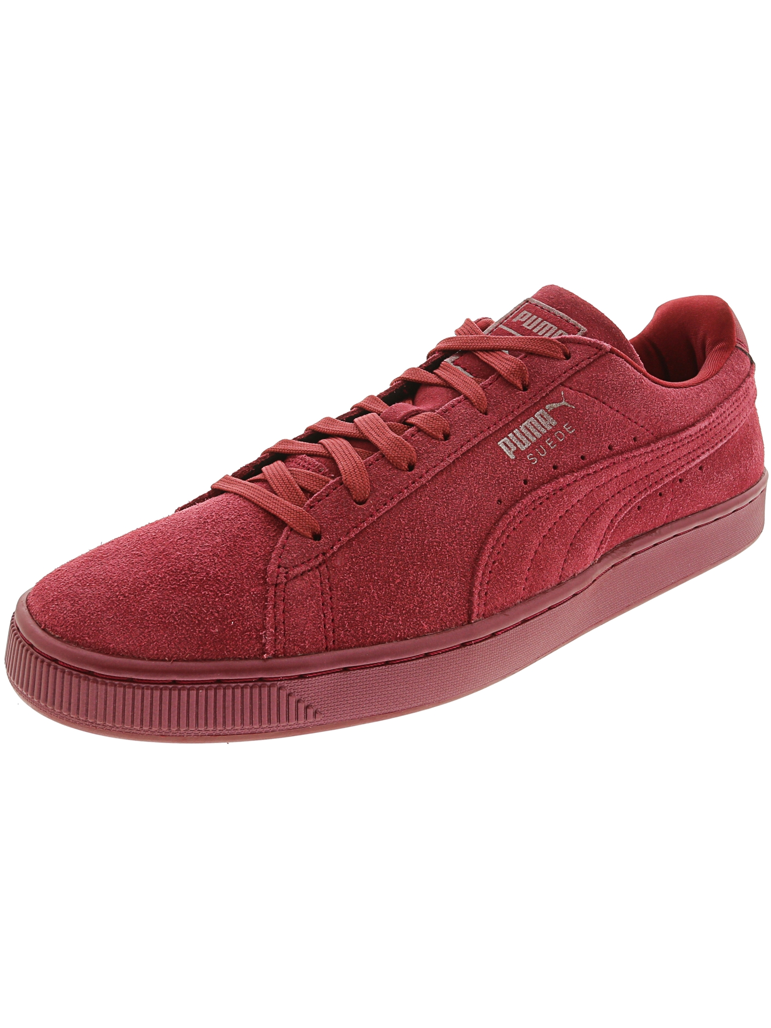 Puma Men's Suede Classic Anodized Tibetan Red / Ankle-High Fashion Sneaker - 11.5M