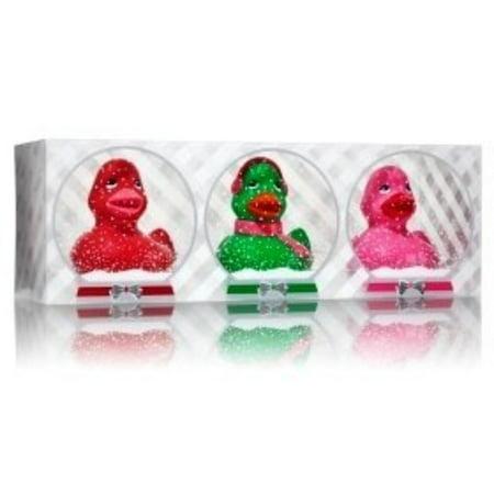 Bath & Body Works 3 Mini Ducks In A Row ~ Green, Red, Pink By Bath Body (Bath And Body Works Shipping To Canada)