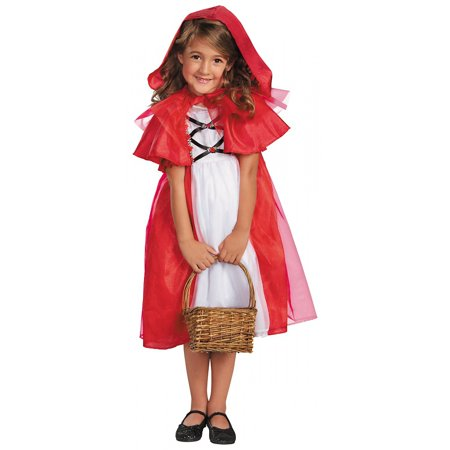 Storybook Red Riding Hood Child Costume - Small](Red Riding Hood Halloween Pattern)