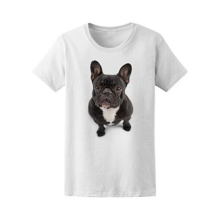 Black French Bulldog Tee Women's -Image by Shutterstock