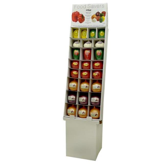 Bulk Buys Assorted Food Keepers Floor Display - Case of 25
