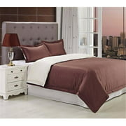 Superior Campbell Reversible 300 Thread Count Cotton Reactive Print Duvet Cover Set