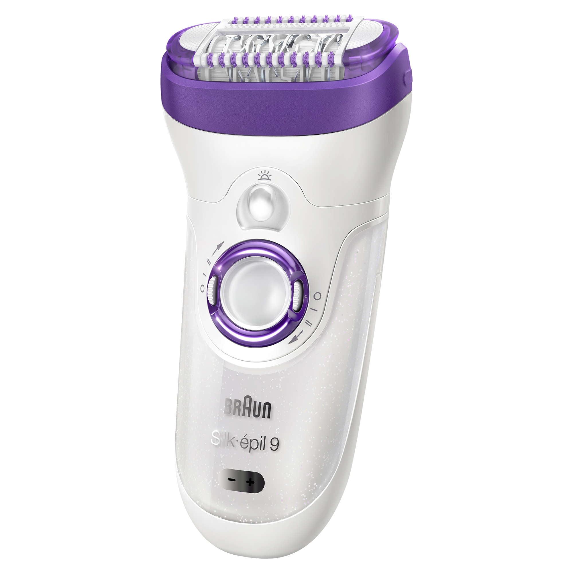 Braun Silk Epil 9 9-579 Women's Wet & Dry Cordless Epilator / Epilation plus 7 extras