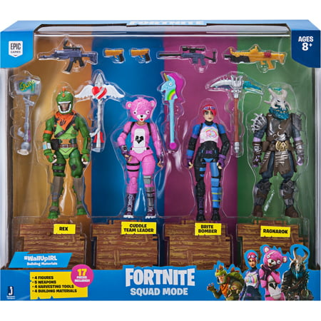 Fortnite Squad Mode 4 Figure Pack, Series 1 1 6th Figures