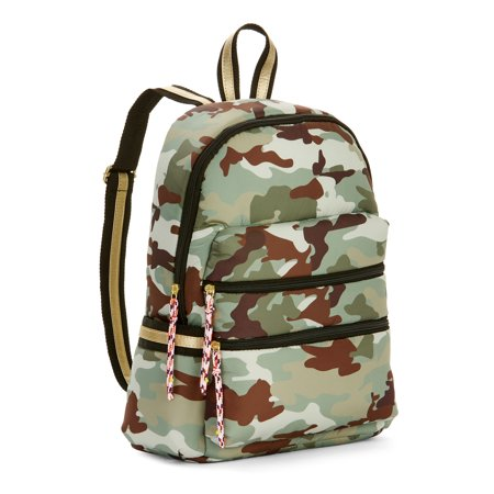 Camouflage Rolling Backpack - Twig & Arrow Nylon Camo Backpack