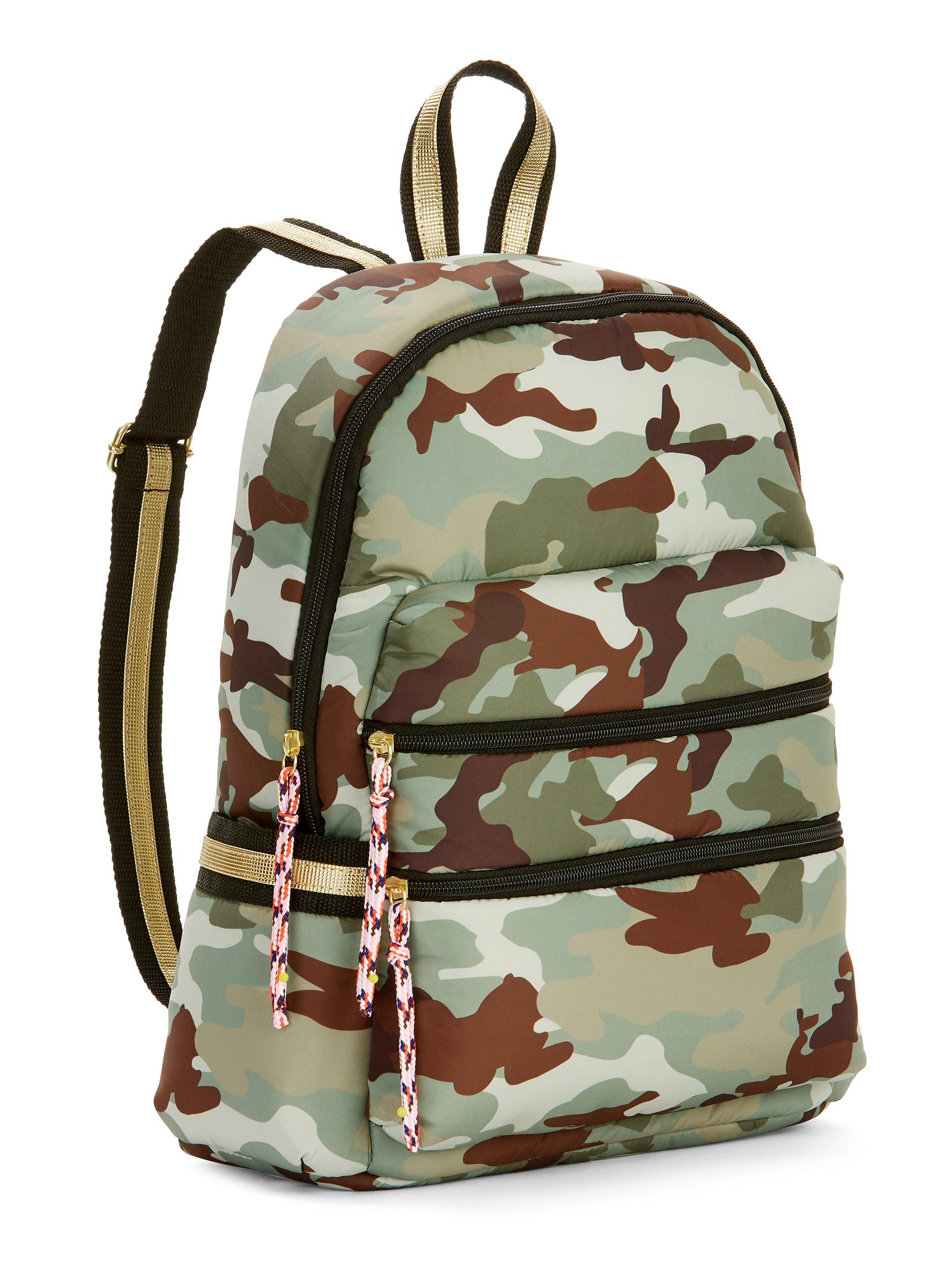 Twig & Arrow Nylon Camo Backpack