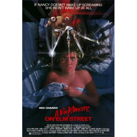 - A Nightmare on Elm Street Movie Poster Print (27 x 40)