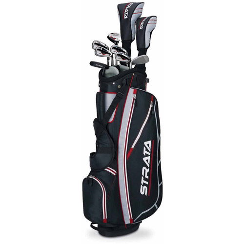 Callaway Men's Strata Complete 12-Piece Golf Club Set with Bag