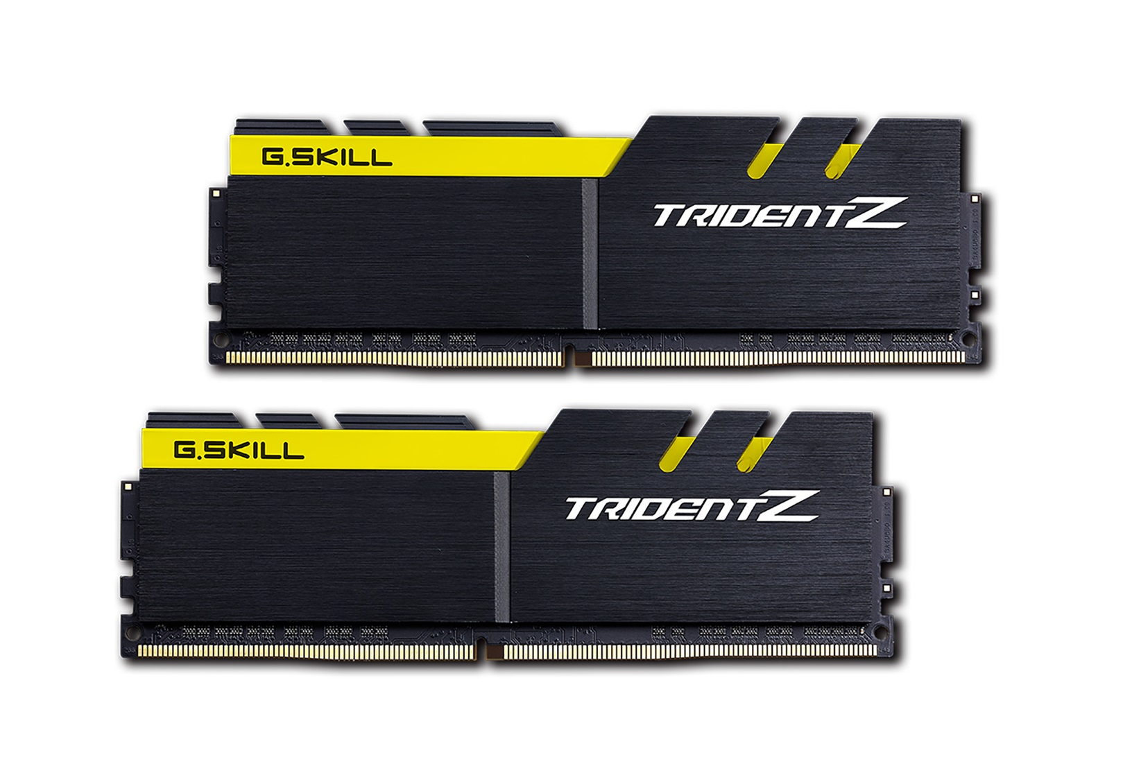 32GB G.Skill DDR4 Trident Z 3200Mhz PC4-25600 CL15 Yellow/Black 1.35V Quad Channel Kit (2x16GB)