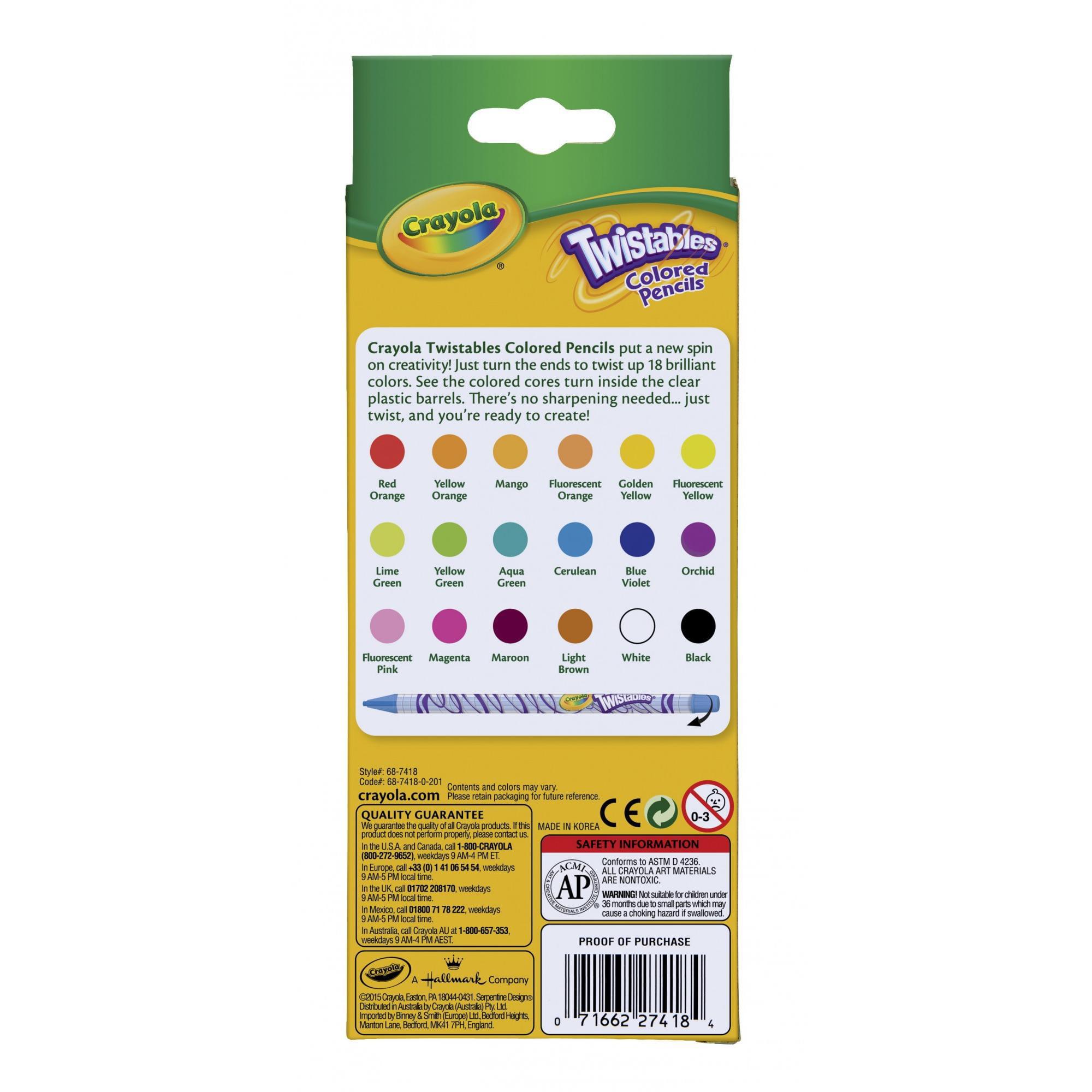 crayola twistables colored pencils walmartcom - Crayola Colored Pencils Twistables