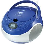 Naxa NPB252BL Portable CD/MP3 Players with AM/FM Stereo (Blue)