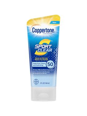 Coppertone Sport Clear Sunscreen Lotion - SPF 50