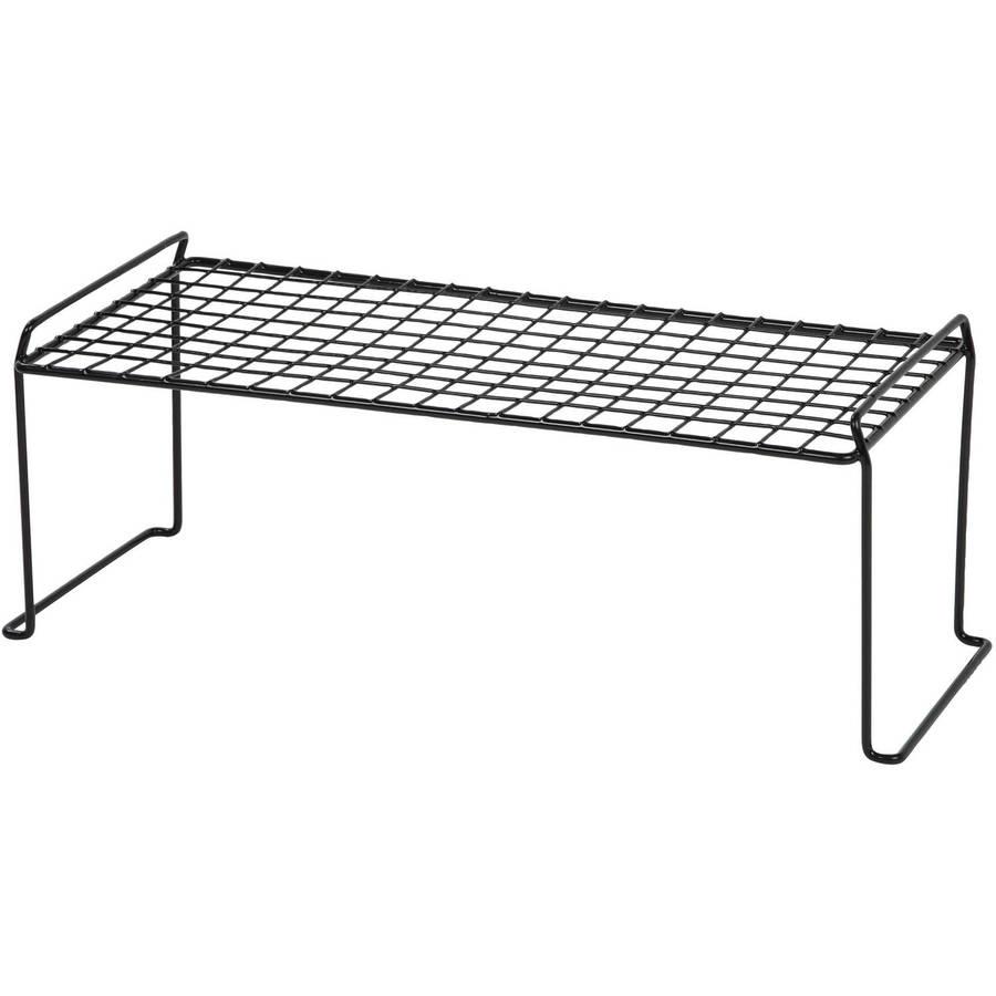 IRIS Long Wire Stacking Storage Shelf, White
