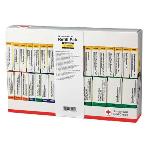 First Aid Kit Refill, American Red Cross, 711036-GR