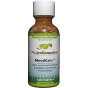 NativeRemedies MoodCalm Homeopathic Tablets, 180 Ct