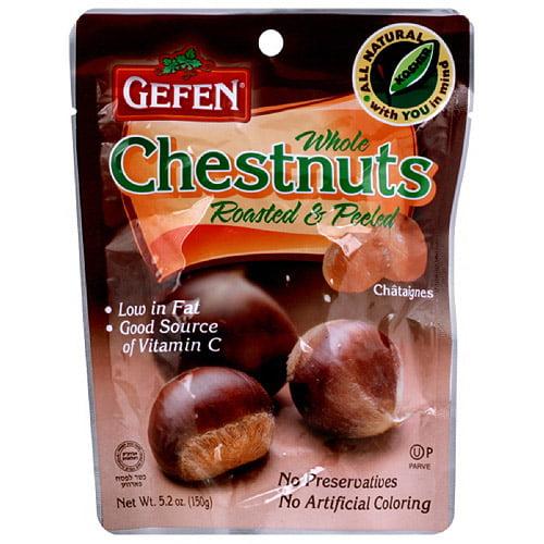 Gefen Roasted Whole Passover Chestnuts (Pack of 12) by Gefen