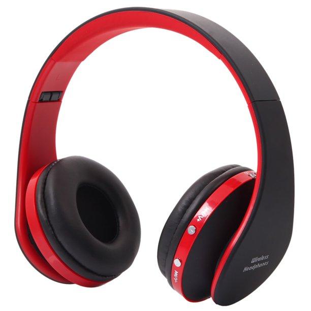 Bluetooth Headphone Headset Nx 8252 Hot Foldable Wireless Stereo Sports Bluetooth Headphone Headset With Mic For Iphone Ipad Pc Walmart Com Walmart Com