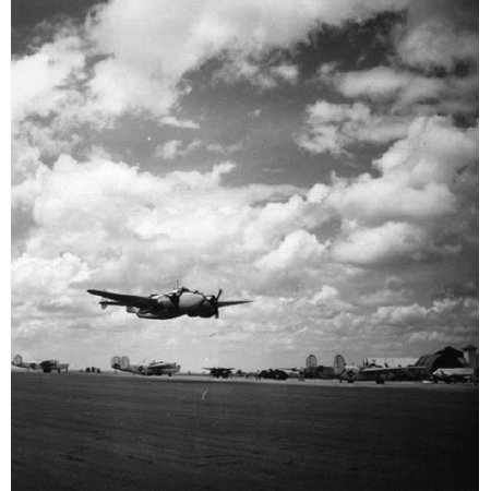 LAMINATED POSTER The Lockheed PV-1 Ventura of patrol bomber squadron VPB-125 taking off from Natal, Brazil, on 25 Apr Poster Print 24 x 36